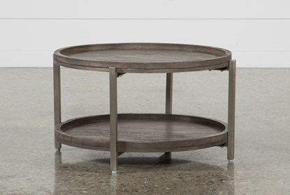 Round Coffee Table Living Spaces 9
