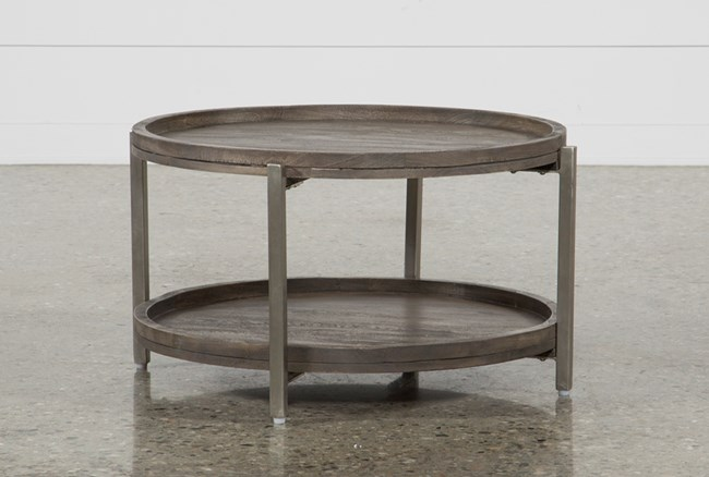 living spaces coffee table Swell Round Coffee Table | Living Spaces living spaces coffee table