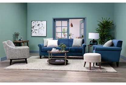 Round Coffee Table Living Spaces 5