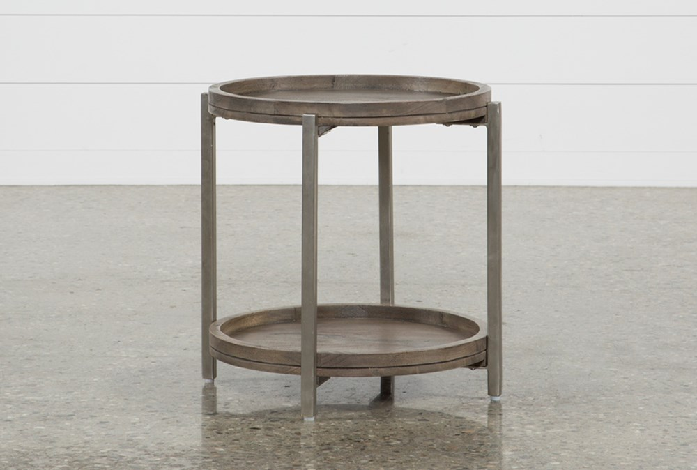 Swell Round End Table