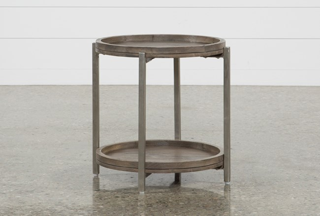Swell Round End Table - 360