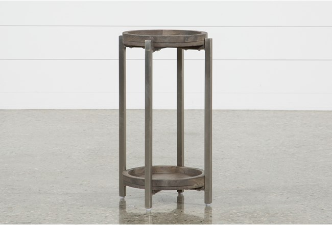 Swell Round Accent Table