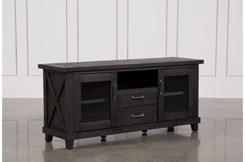 Jaxon 68 Inch TV Stand With Glass Doors