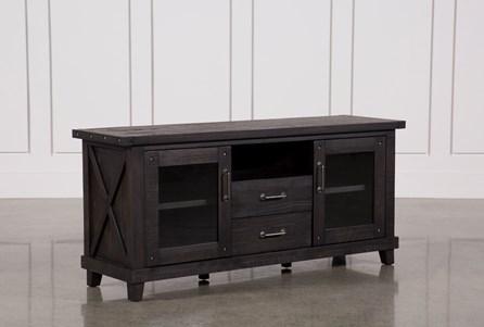 Jaxon 68 Inch TV Stand With Glass Doors - Main
