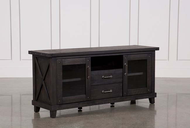 Jaxon 68 Inch TV Stand With Glass Doors - 360