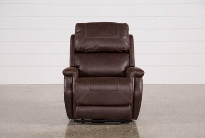 Excellent Buckley Walnut Power Lift Recliner With Power Headrest Ibusinesslaw Wood Chair Design Ideas Ibusinesslaworg