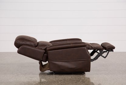 Brilliant Buckley Walnut Power Lift Recliner With Power Headrest Frankydiablos Diy Chair Ideas Frankydiabloscom