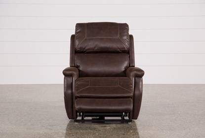 Outstanding Buckley Walnut Power Lift Recliner With Power Headrest Frankydiablos Diy Chair Ideas Frankydiabloscom