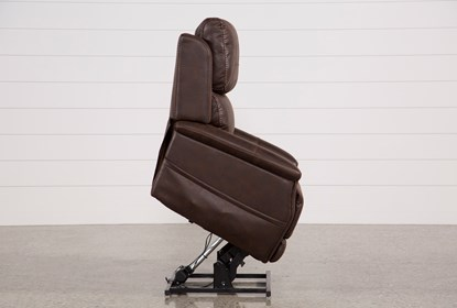 Incredible Buckley Walnut Power Lift Recliner With Power Headrest Frankydiablos Diy Chair Ideas Frankydiabloscom