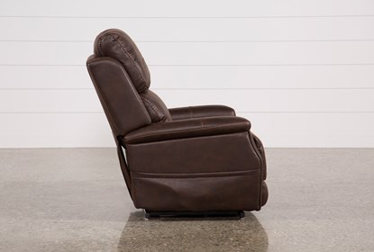 Stupendous Buckley Walnut Power Lift Recliner With Power Headrest Frankydiablos Diy Chair Ideas Frankydiabloscom