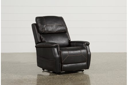 Buckley Eclipse Power-Lift Recliner With Power Headrest
