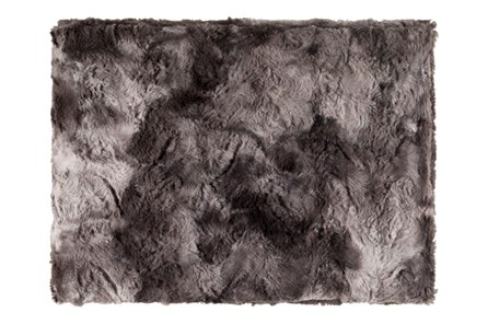 Accent Throw-Graphite Fur