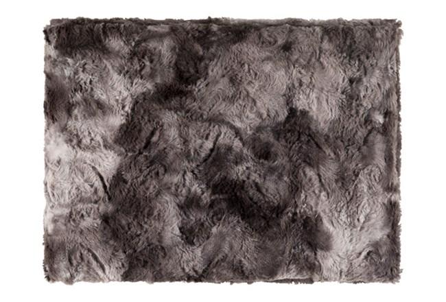 Accent Throw-Graphite Fur - 360