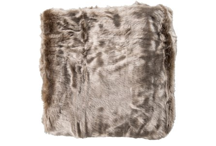 Accent Throw-Taupe Fur
