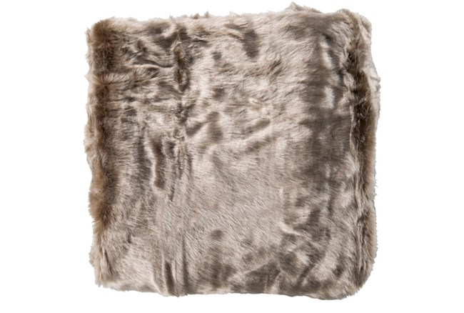 Accent Throw-Taupe Fur - 360