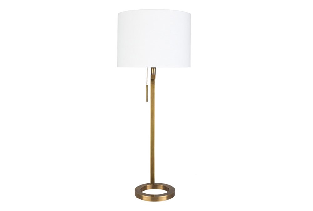 Table Lamp-Brass Ring