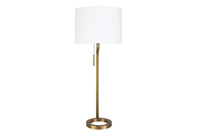 Table Lamp-Brass Ring - 360