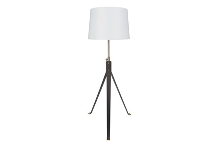 Floor Lamp-Metal Industrial Tripod
