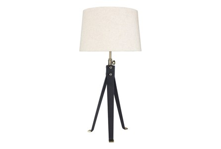 Table Lamp-Metal Industrial Tripod