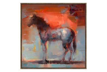 Picture-Red Horse