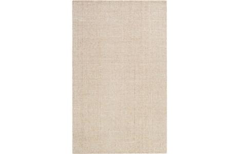 24X36 Rug-Berber Tufted Wool Khaki