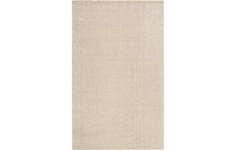 24X36 Rug-Berber Tufted Wool Khaki