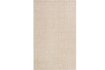 60X90 Rug-Berber Tufted Wool Khaki