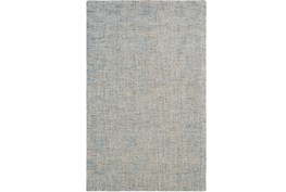 24X36 Rug-Berber Tufted Wool Denim