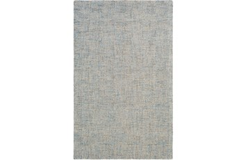 "5'x7'5"" Rug-Berber Tufted Wool Denim"