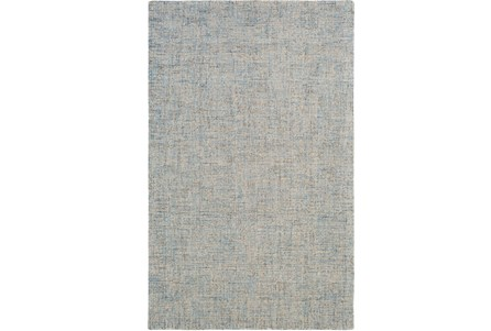 60X90 Rug-Berber Tufted Wool Denim