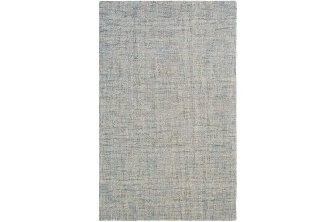 60X90 Rug-Berber Tufted Wool Denim - 360
