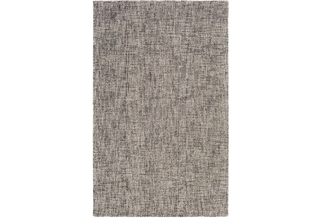 2'x3' Rug-Berber Tufted Wool Navy/Charcoal - 360
