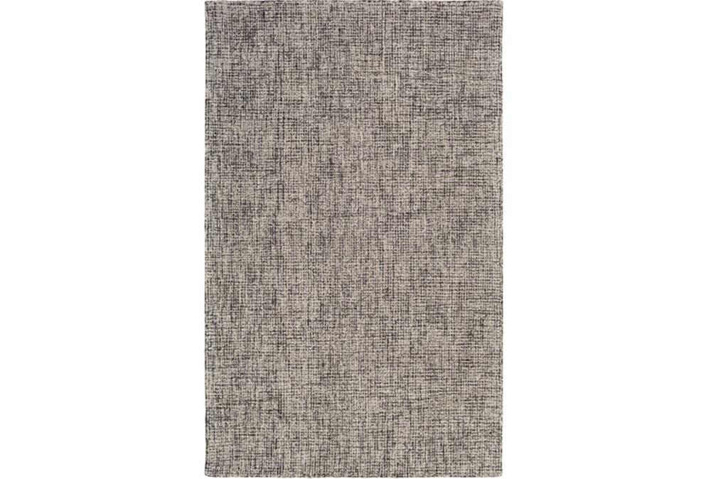 "5'x7'5"" Rug-Berber Tufted Wool Navy/Charcoal"