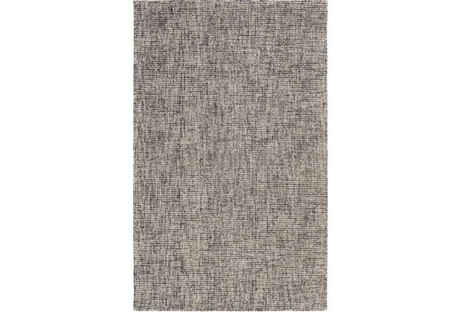60X90 Rug-Berber Tufted Wool Navy/Charcoal - 360
