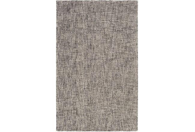 "5'x7'5"" Rug-Berber Tufted Wool Navy/Charcoal - 360"