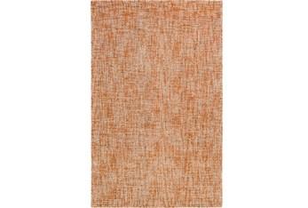 2'x3' Rug-Berber Tufted Wool Orange