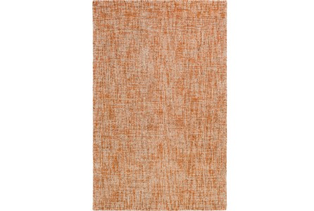 24X36 Rug-Berber Tufted Wool Orange