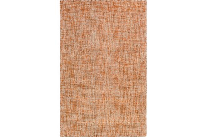 24X36 Rug-Berber Tufted Wool Orange - 360