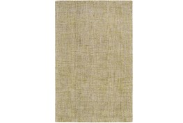 60X90 Rug-Berber Tufted Wool Olive