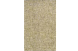 96X120 Rug-Berber Tufted Wool Olive