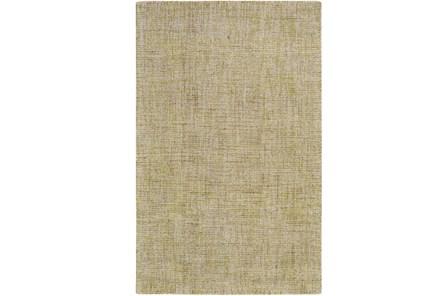 96X120 Rug-Berber Tufted Wool Olive
