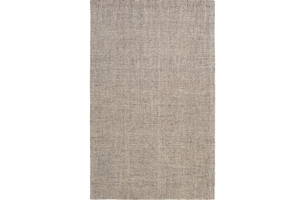 "5'x7'5"" Rug-Berber Tufted Wool Gray"