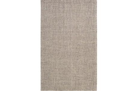 60X90 Rug-Berber Tufted Wool Gray