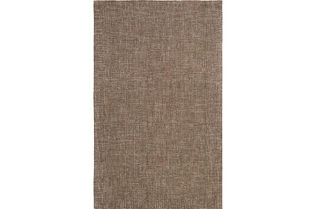 60X90 Rug-Berber Tufted Wool Brown