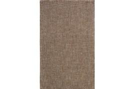 96X120 Rug-Berber Tufted Wool Brown