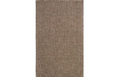 96X120 Rug-Berber Tufted Wool Brown - Main