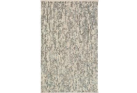 60X90 Rug-Cormac Woven Wool Blue