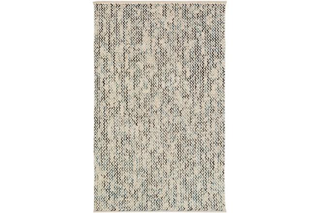 60X90 Rug-Cormac Woven Wool Blue - 360