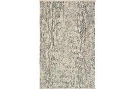 96X120 Rug-Cormac Woven Wool Blue