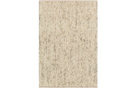 2'x3' Rug-Cormac Woven Wool Taupe